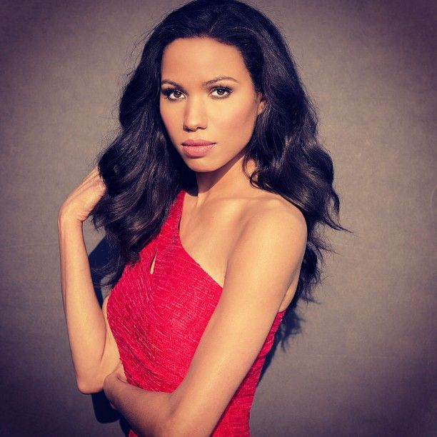 Actress Jurnee Smollett-Bell- African American, Native American, Creole and Irish mum and Russian and Polish Jewish dad.