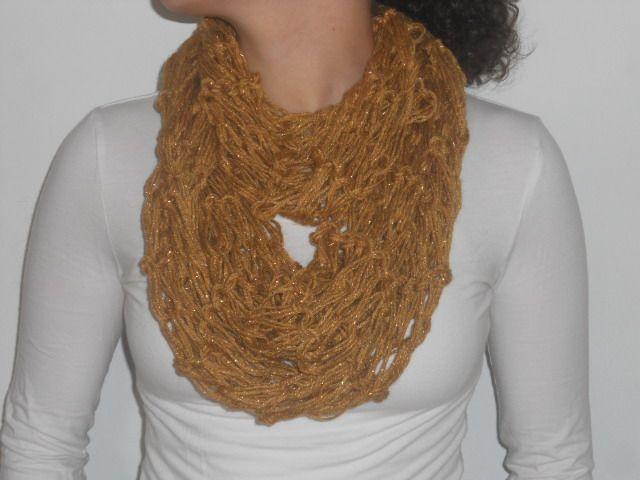 Cuello Aija. Infinity scarf Aija.