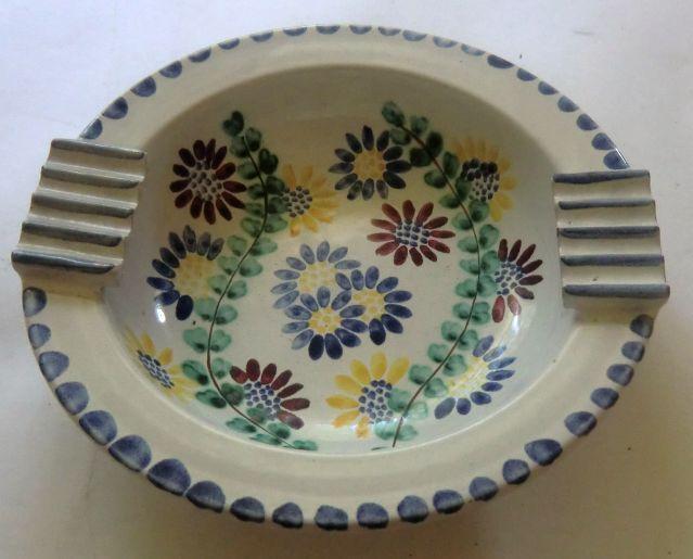 ELLE- fat med blomsterdekor, Rondane Brukt & Antikk