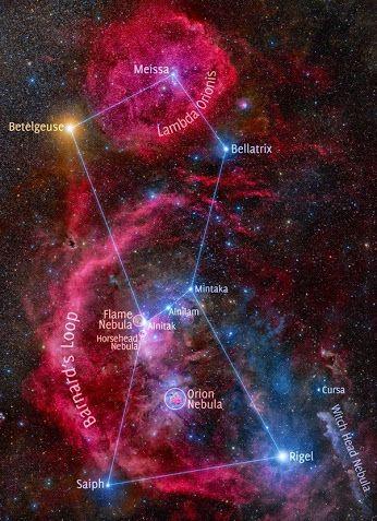 Hubble Space Telescope -   #Nebula #Orion, #Horsehead , #Flame