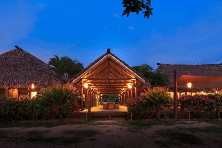 Twilight serenity at Yatule Resort and Spa!