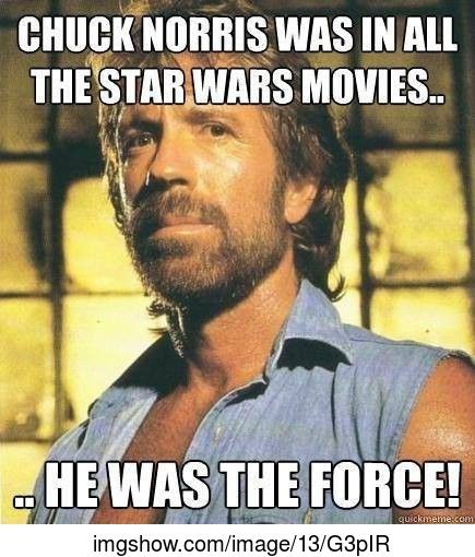 Star wars - Chuck Norris