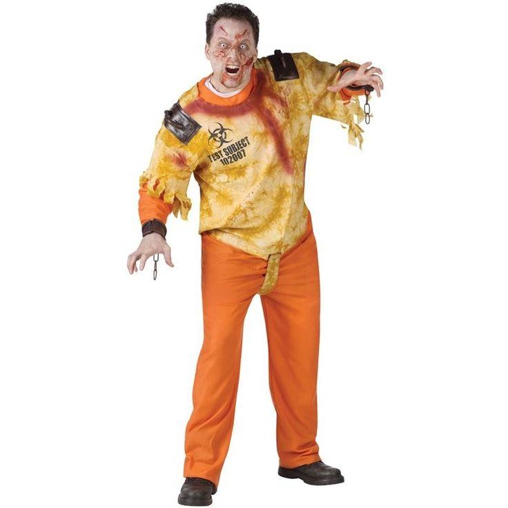 Restraint Zombie Adult Costume. #endoftheworld #costumeideas