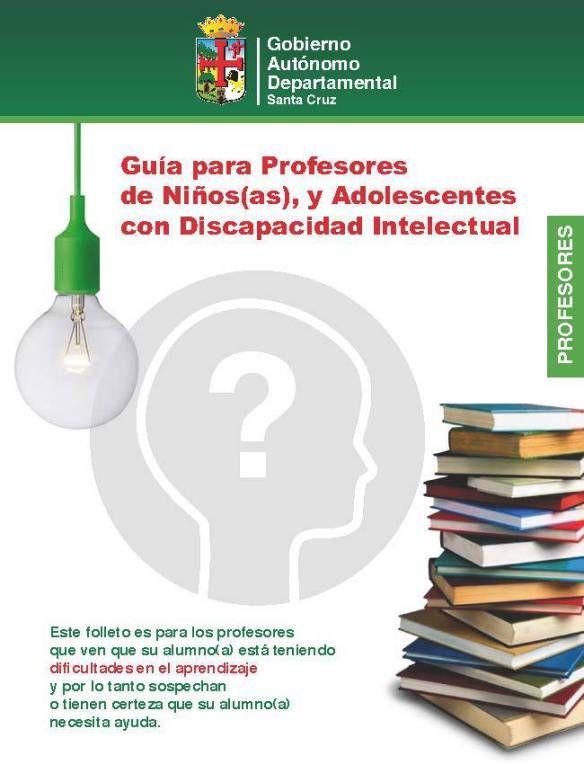 Guia para Profesores de niños y adolescentes con Discapacidad Intelectual