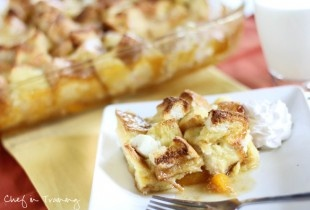 Overnight Peaches and Cream French Toast! So easy and absolutely ...