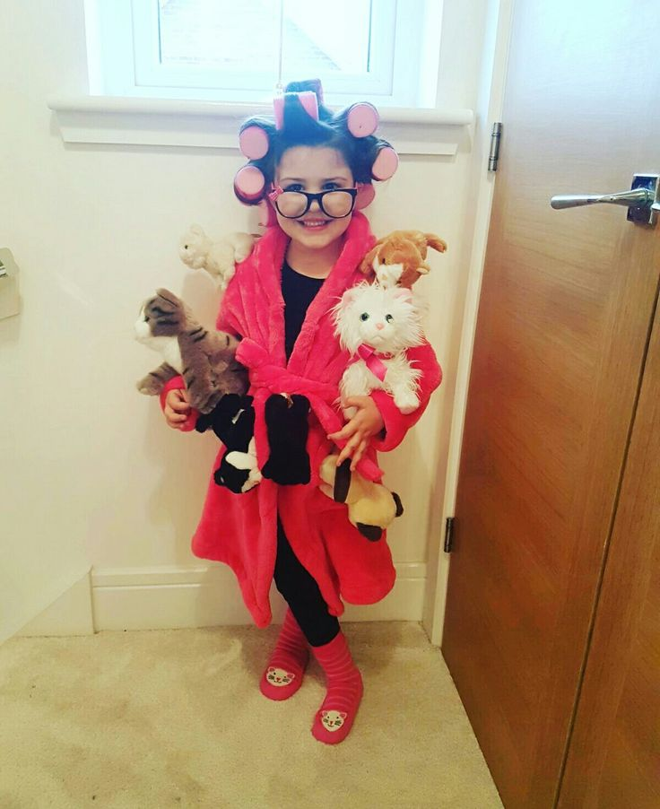 crazy cat lady costume halloween dress up