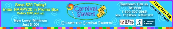 Cheap carnival prizes
