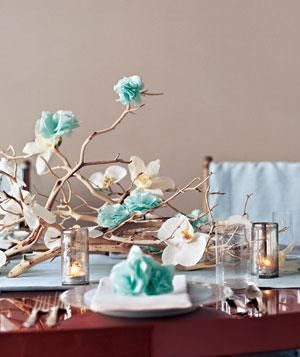 Gorgeous Thanksgiving Tables for Less Than $50 | Four designers created these festive tables on a tight budget. You can too.