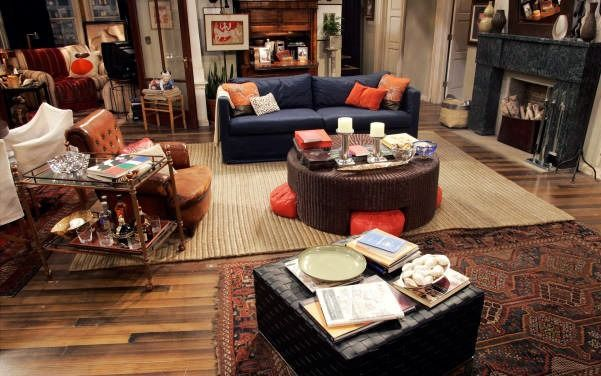 will and grace apartment decor  Buscar con Google  home  Pinterest  Apartments Living rooms
