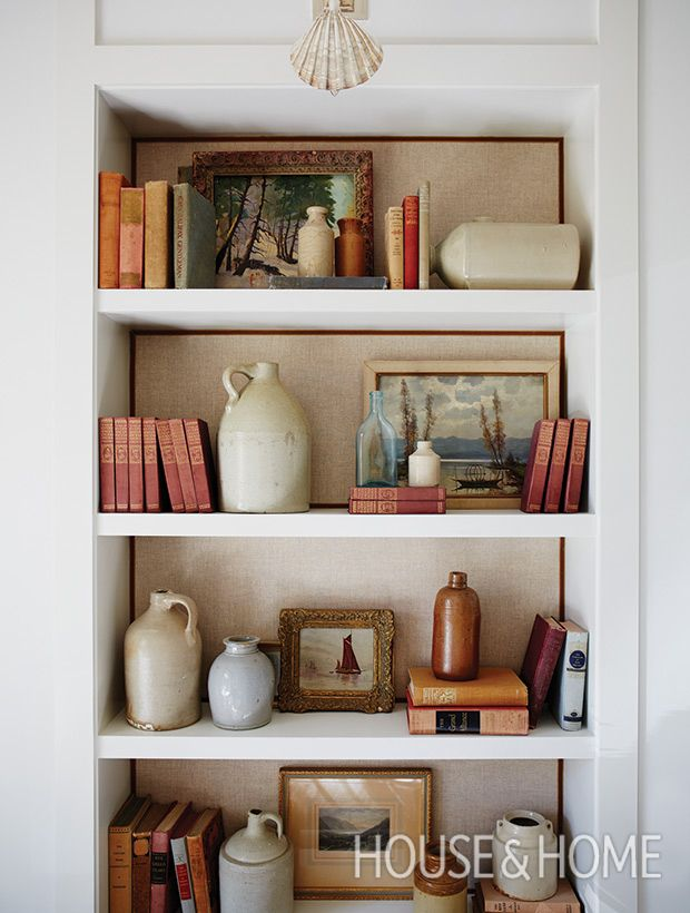 17 best images about art arranging on pinterest photo for Open shelves in living room