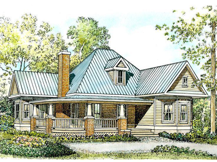 208 best maison images on Pinterest Architecture, Dream home plans