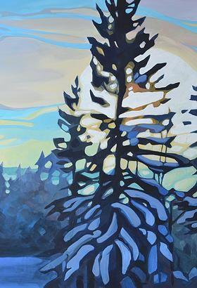Art-landscape E.Hawkes