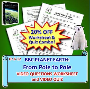 BBC Planet Earth - FROM POLE TO POLE - Video Questions & Quiz Combo ...