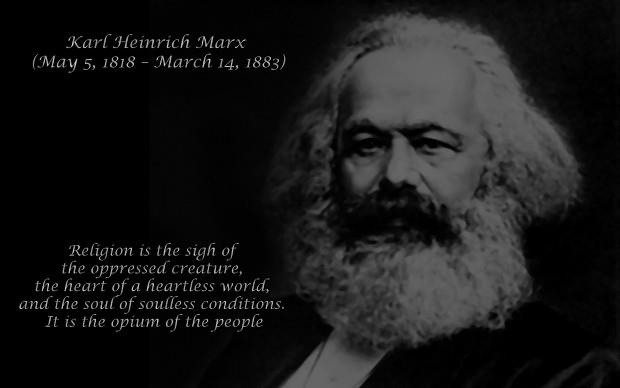 karl marx the opium of the people Marx's, draft introduction to a contribution to the critique of hegel's philosophy  of right, which was  works of karl marx 1843  it is the opium of the people.
