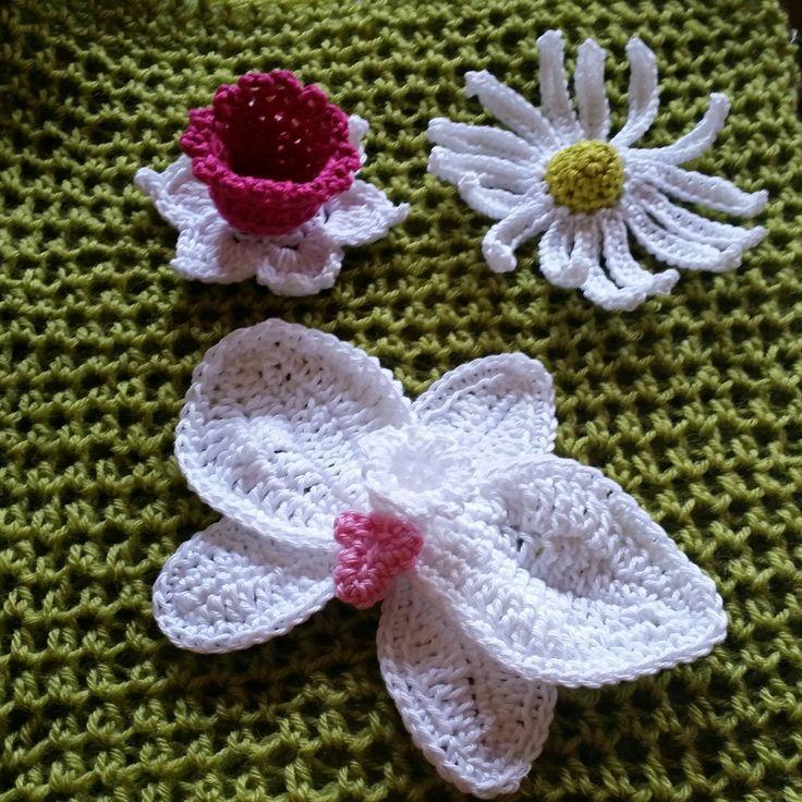 Tolle Häkeln Blumenmuster Decke Zeitgenössisch - Schal-Strickende ...
