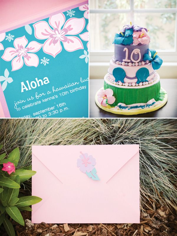 By far the cutest Hawaiian birthday party ever. I love how she converted the food into it's Hawaiian name on the name cards. The cake is too cute for words and the games were adorable! Great ideas in here!