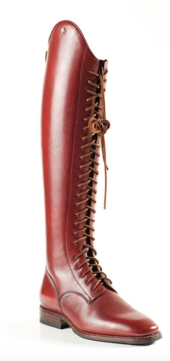 Absolutely in love with these schooling/fashion tall boots from Deniro. Get some for yourself at Stylemyride12@gmail.com!! #denirocustomboots #tallboots #stylemyride