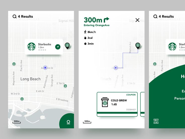Looking for Starbucks by Ed - Dribbble
