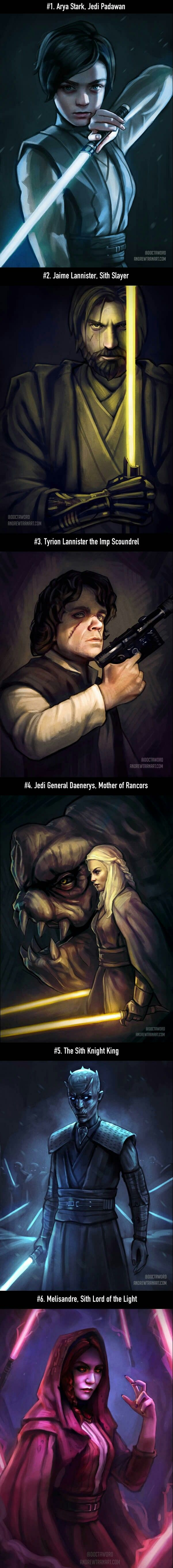 I might have actually watched Star Wars if this was the case.