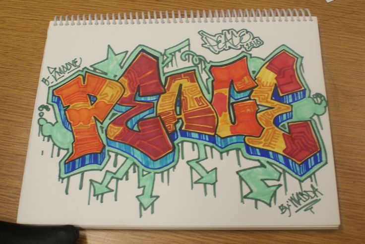 Images For > Graffiti Words On Paper