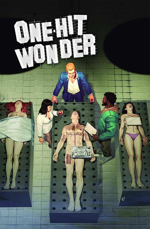 ONE-HIT WONDER #3    Publisher: IMAGE COMICS  (W) Fabrice Sapolsky (A/CA) Ariel Olivetti  The shocking events of last issue have left Richie angrier than ever. He's determined to find who has targeted someone very close to him. His journey only begins and on the way, he'll cross paths with an old friend, a pretender, a dead guy with weird tattoos, and a human bomb!  Item Code: FEB140618  In Shops: 4/30/2014  SRP: $3.50