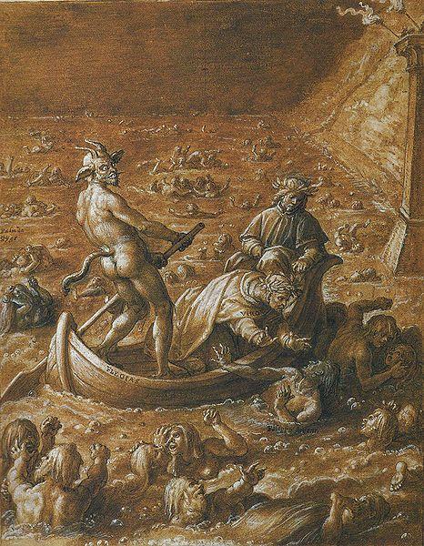 Stradano Inferno Canto 08. Artist [show]Stradanus (1523–1605)   DescriptionIllustration of Dante's Inferno, Canto 8 Date1587