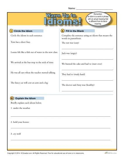 199 best images about teaching idioms on pinterest activities student centered resources and. Black Bedroom Furniture Sets. Home Design Ideas