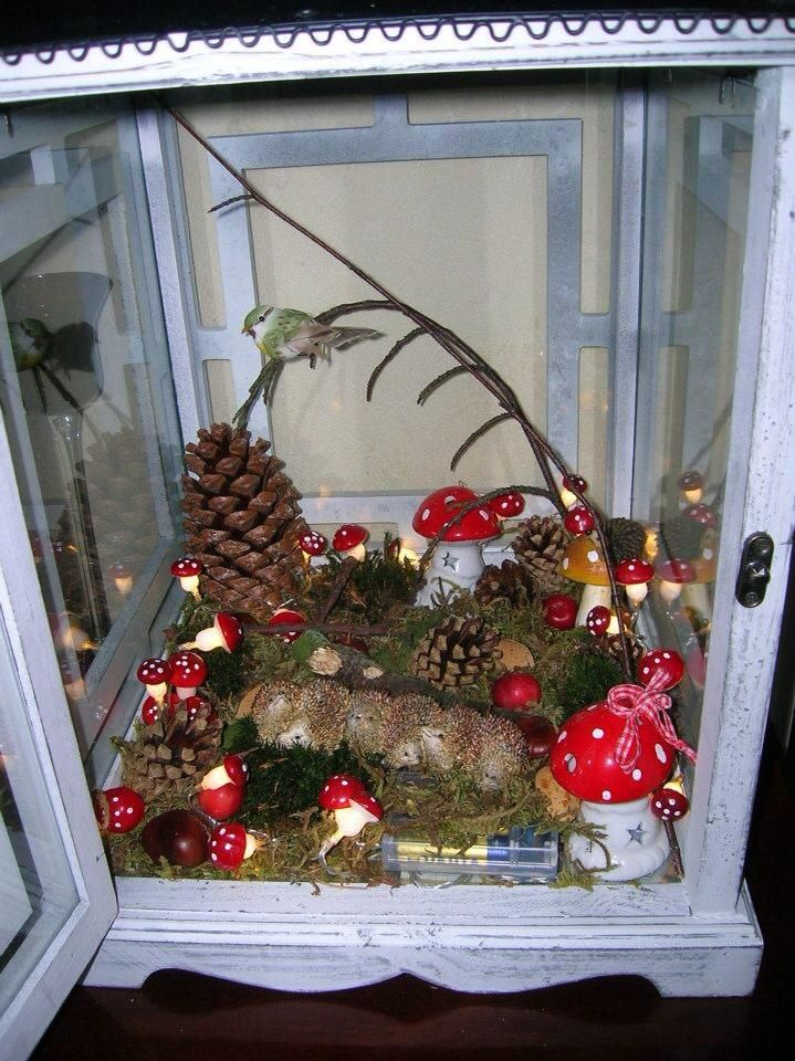 idee herfsttafel creatieve decoratie (atributen te koop bij action)