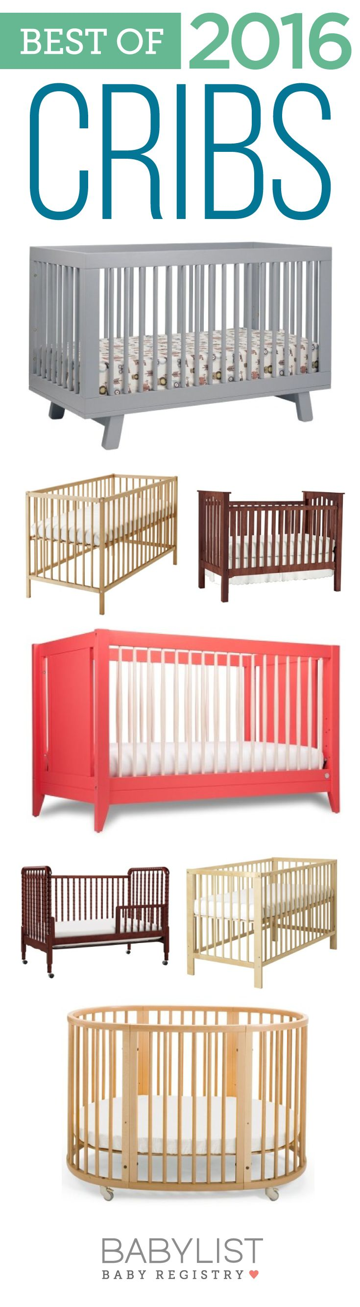 Need some crib advice to help you pick out the best one? Here are the 7 best cribs of 2016 - based on our own research + input from thousands of parents. There's no one must-have crib. Every family is different. Use this guide to help you figure out the best crib for your family's needs and priorities.