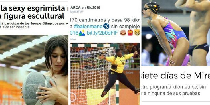 Las mujeres que participan en los Juegos Olímpicos de Río de Janeiro suponen el 45% del total de los atletas que compiten en Brasil este verano. Pero a pesar de que se encuentran en el nivel más alto de competición, no llegan a recibir el mismo trato que sus homólogos masculinos.    Sin ir más l