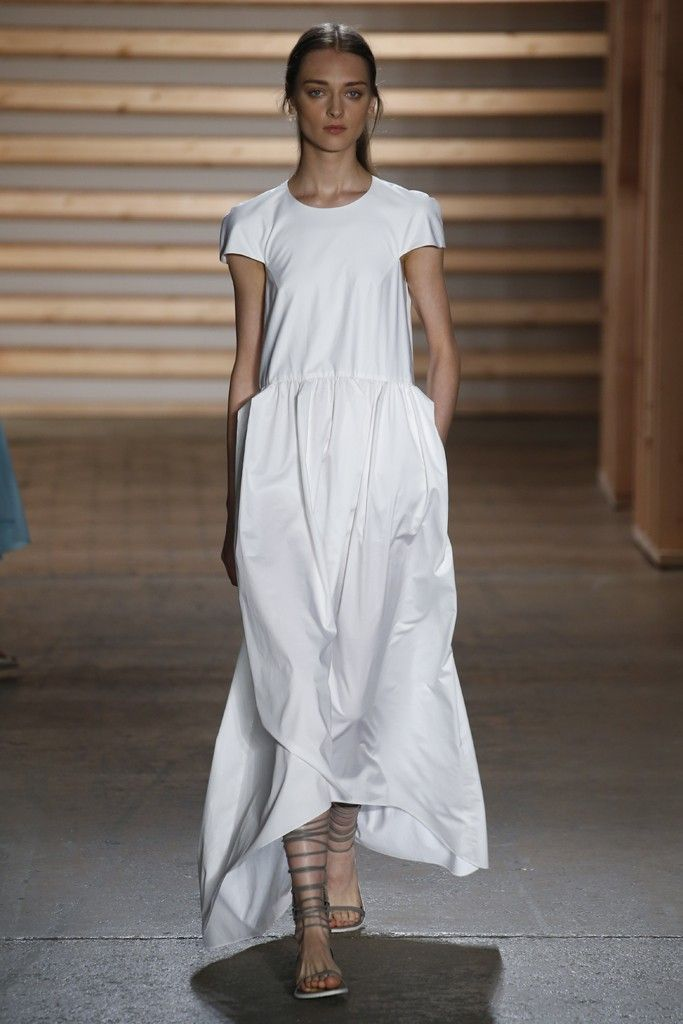 Simplicity at #Tibi RTW Spring 2015 - feeling the japanese inspiration | @andwhatelse