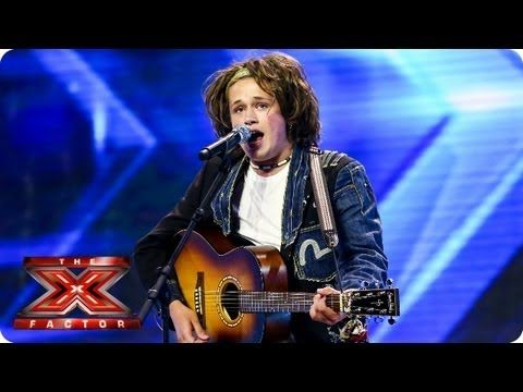 Luke Friend sings Too Much Love Will Kill You by Queen - Arena Auditions Week 2 -- The X Factor 2013