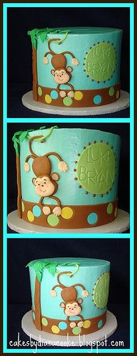 Cake Decorating Classes Near Charlotte Nc : 1000+ images about Monkey Baby Shower Cakes on Pinterest ...