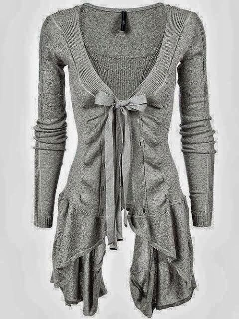 Now THIS is a cardigan! No need to layer frumpy cardi's over your maxi dresses and camis.