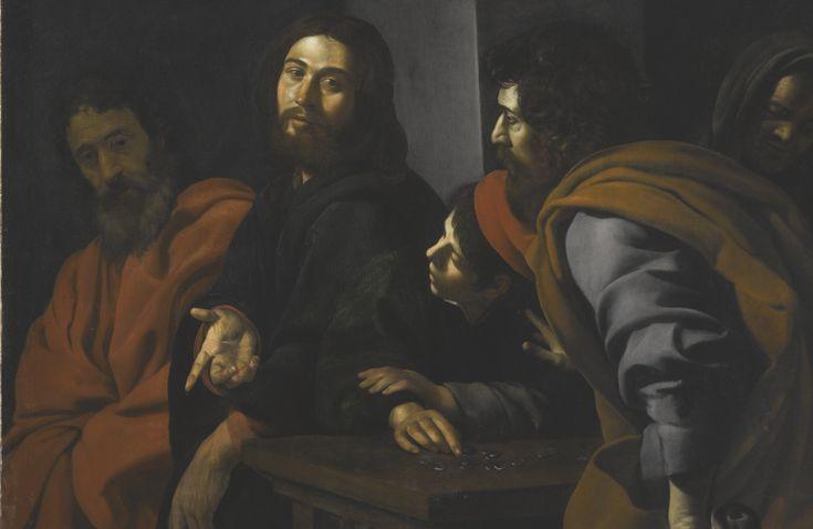 Giovanni Battista Caracciolo, called Battistello THE CALLING OF SAINT MATTHEW