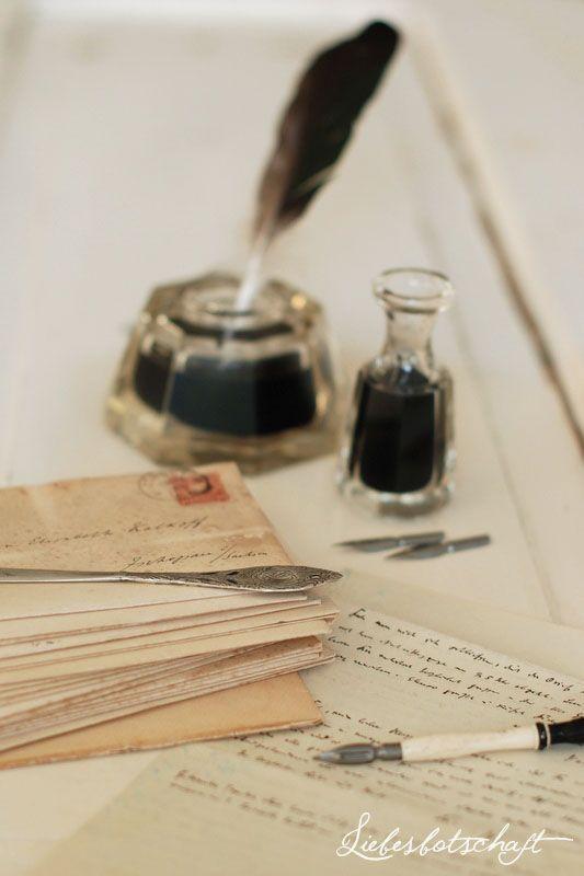 Liebesbotschaft: Von echten Liebesbriefen und echtem Flohmarkt-Glück...