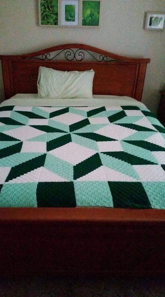 OMG Crochet C2C [Free Pattern]