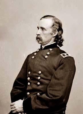 Gen. George Custer, U.S.A. It was created between 1855 and 1865.