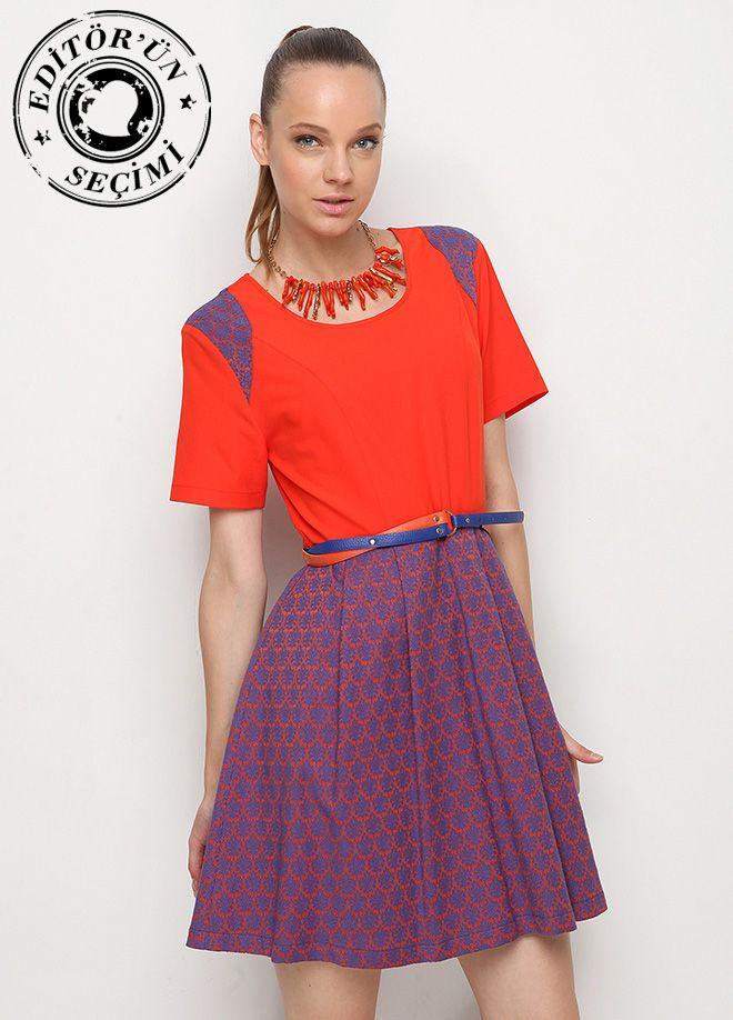 Stil Aşkı: Ofiste Yaz Etek empirme elbise Markafoni'de 119,99 TL yerine 59,99 TL! Satın almak için: http://www.markafoni.com/product/4613363/ #markafoni #fashion #dress #summer #elbise #mavi #blue #bestoftheday #model #designer #instafashion #dressoftheday #sunny #shoes