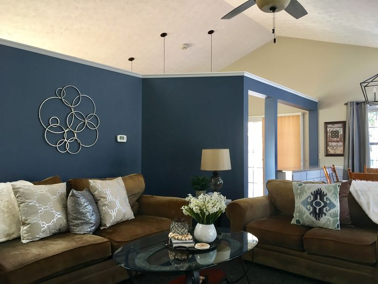 Sherwin Williams Distance Accent Wall House Remodel