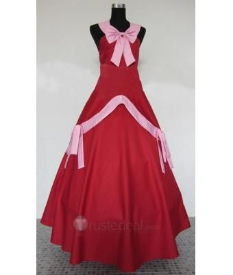 Fairy Tail Mirajane Red Cosplay Costume $74.99 - Anime Cosplay Costumes - Trustedeal.com