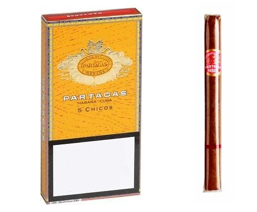 A tiny cigar made only from genuine Cuban tobacco. Price: £8.49