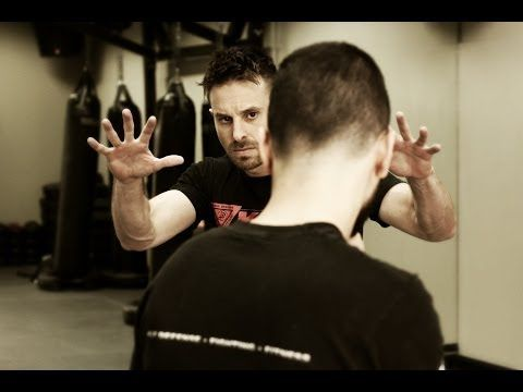 The Fundamentals of Krav Maga - Fighting Stance and Self Defense Tactics w/ AJ Draven - YouTube