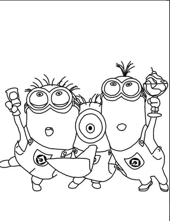 minion tim coloring pages - photo#16