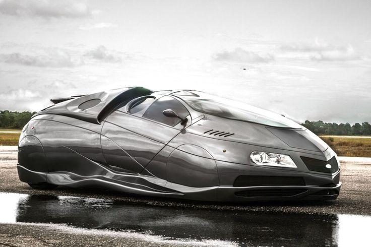 'Alien spaceship car' on sale on eBay —WANT