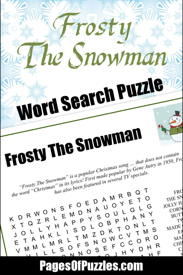 Printable Christmas Word Search for Kids & Adults ...