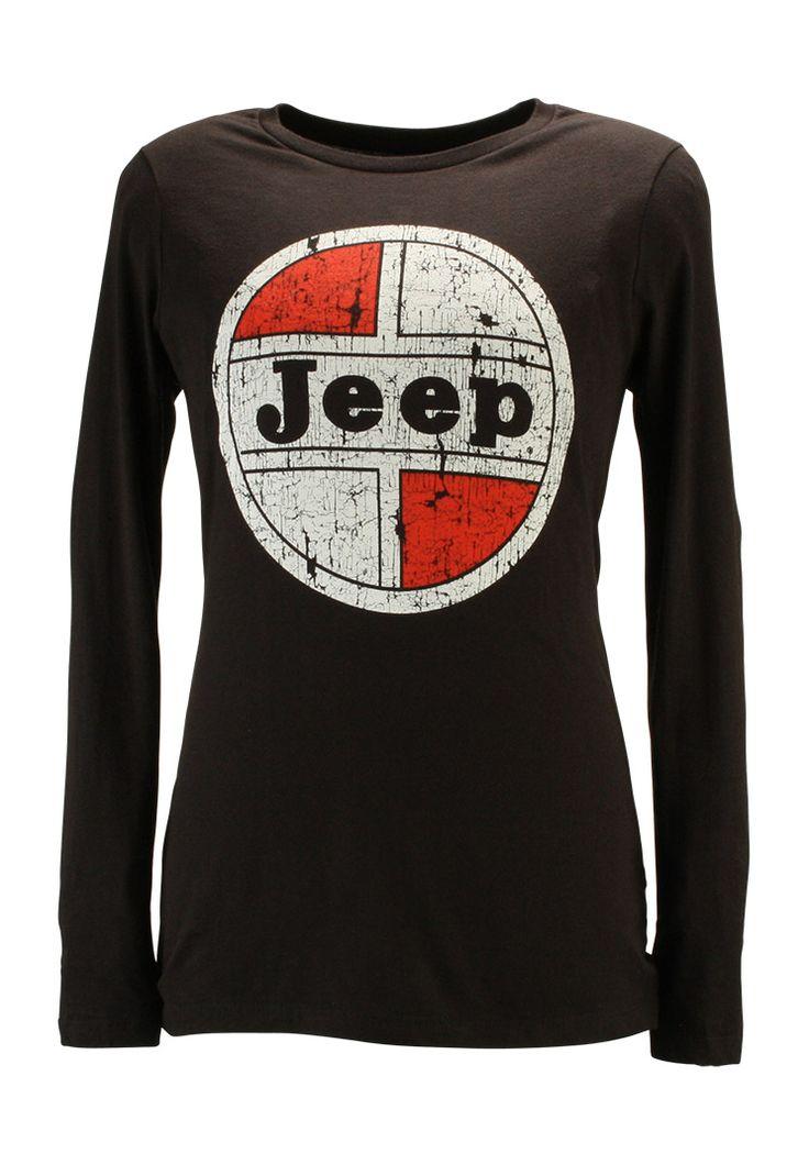 Jeep Gear: Product'Jeep® Ladies 1966 Wheel Cap Long Sleeve T-shirt'