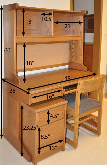 17 best ideas about desk dimensions on pinterest tiny ti. Black Bedroom Furniture Sets. Home Design Ideas