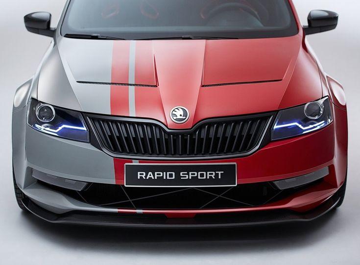Cars Tuning Music: Skoda Rapid Sport