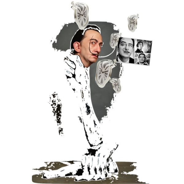 salvador dali handout by keti-dangelo on Polyvore featuring polyvore art